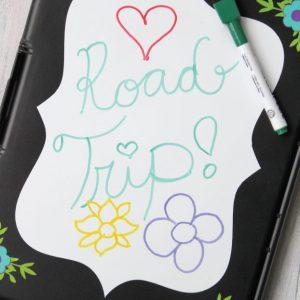 DIY Road Trip Activity Clipboard