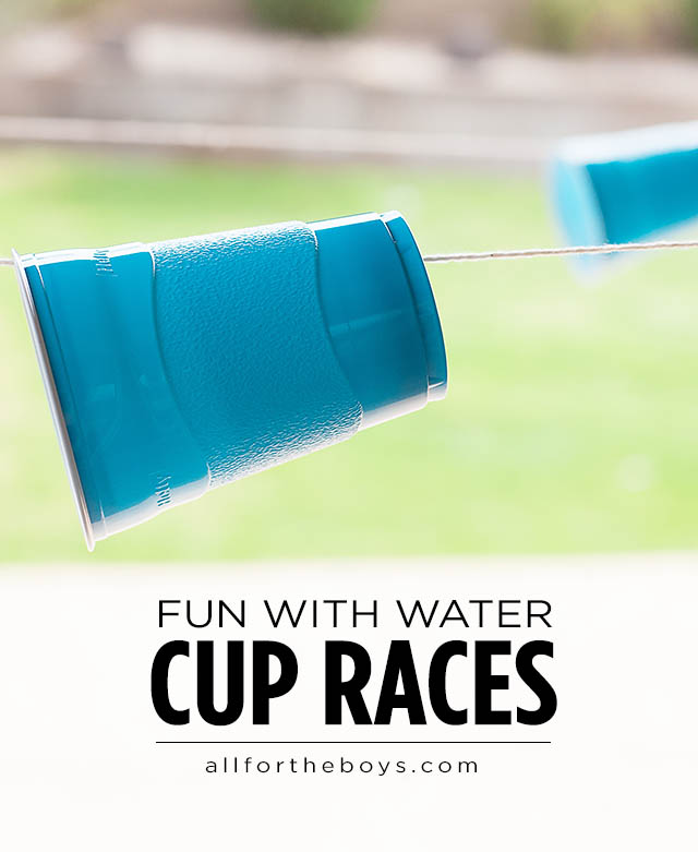 Water Cup Races