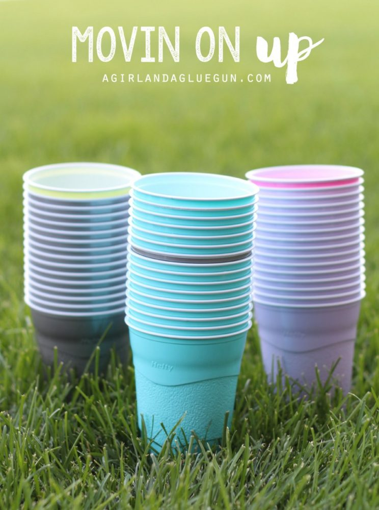 Movin- On Up Cup Game and more fun things to do with cups!