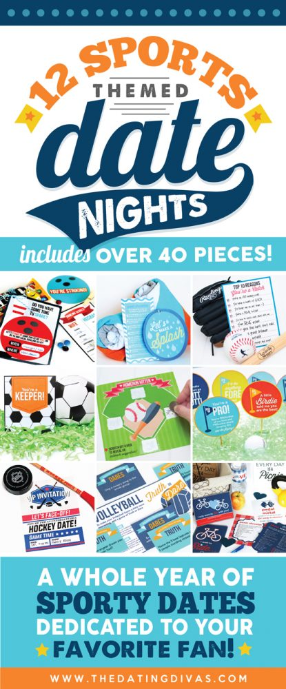 Sporty Date Night Printable Kit