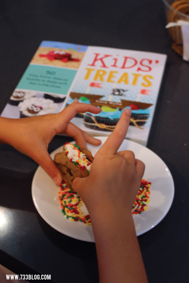 DIY Cookie Ice Cream Sandwiches