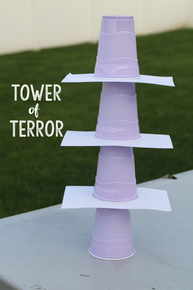 Tower of Terror Cup Game
