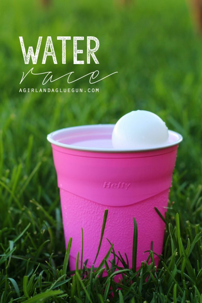 Water Race Cup Game and more fun things to do with cups!
