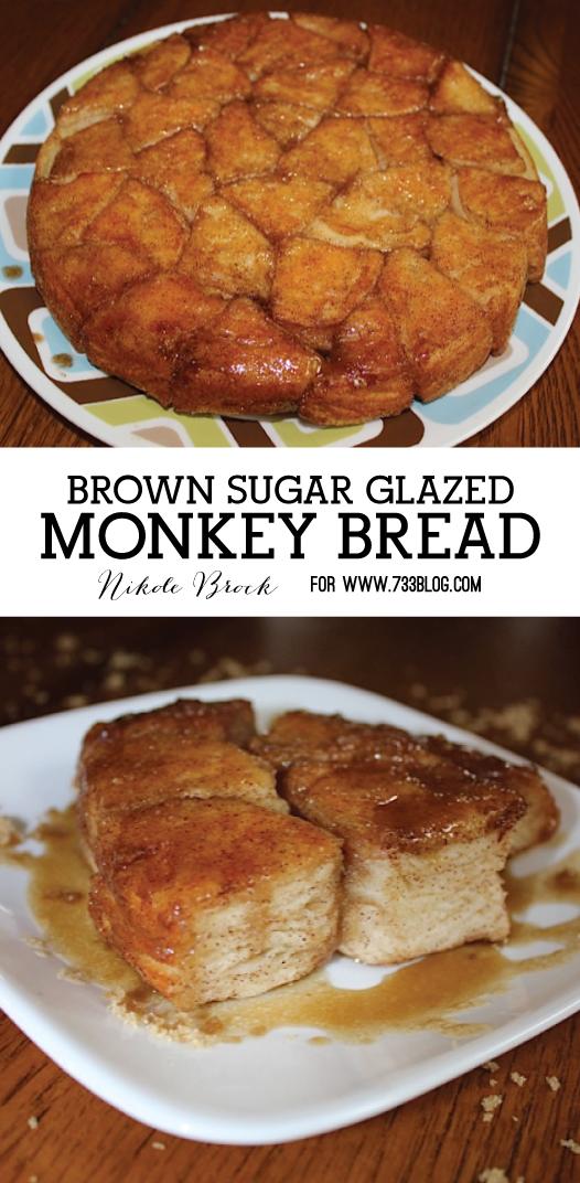 Brown Sugar Glazed Monkey Bread