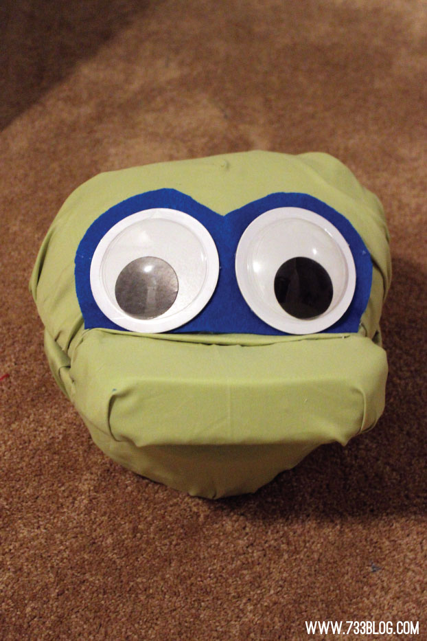 DIY Monster Head