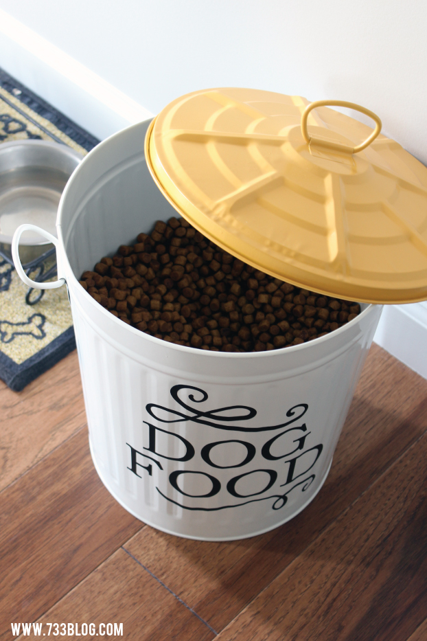 DIY Dog Food Can