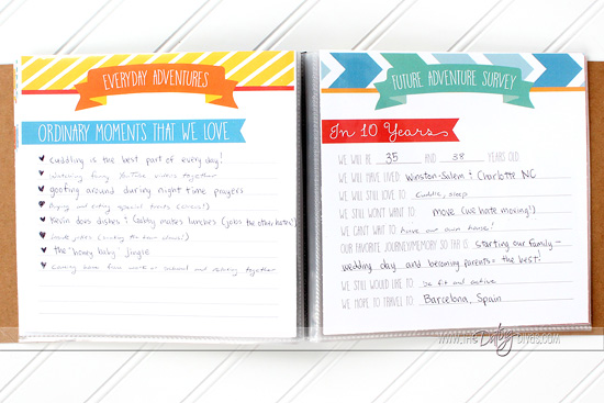 Our Amazing Adventure Book Printable Pack - Inspiration Made Simple