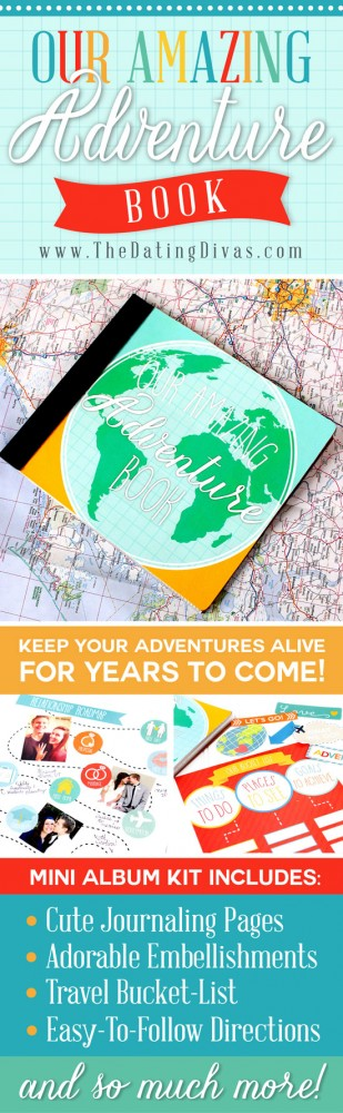 Our Amazing Adventure Book - Printable digital scrapbook collection inspired by the movie 'UP""