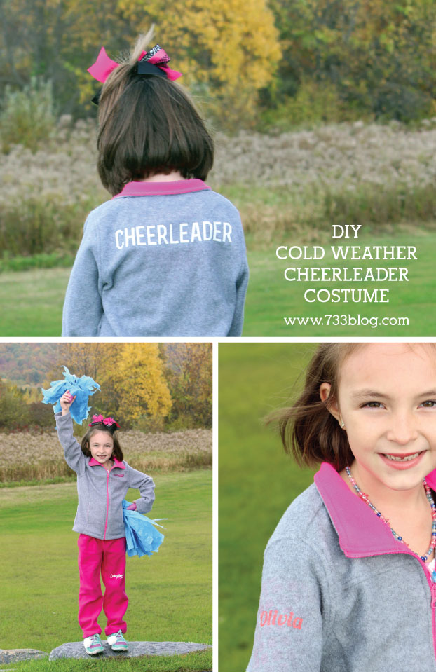 Diy Cheerleader Costume For Cold Weather Inspiration Made