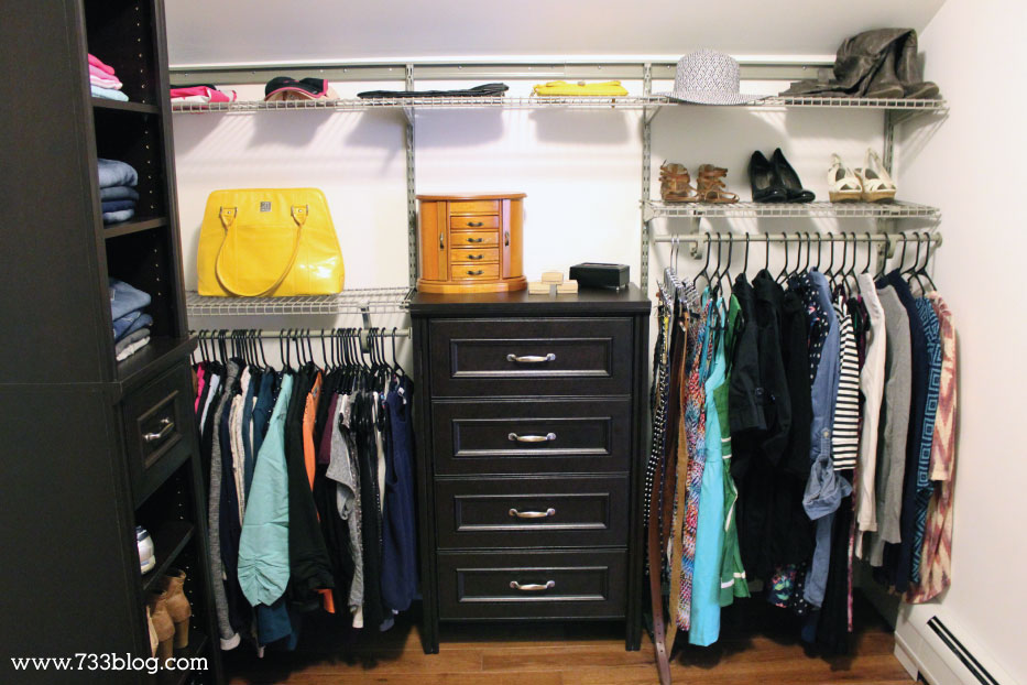 A Master Closet that meets your needs