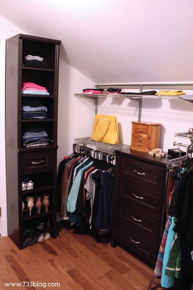 Master Closet with ClosetMaid