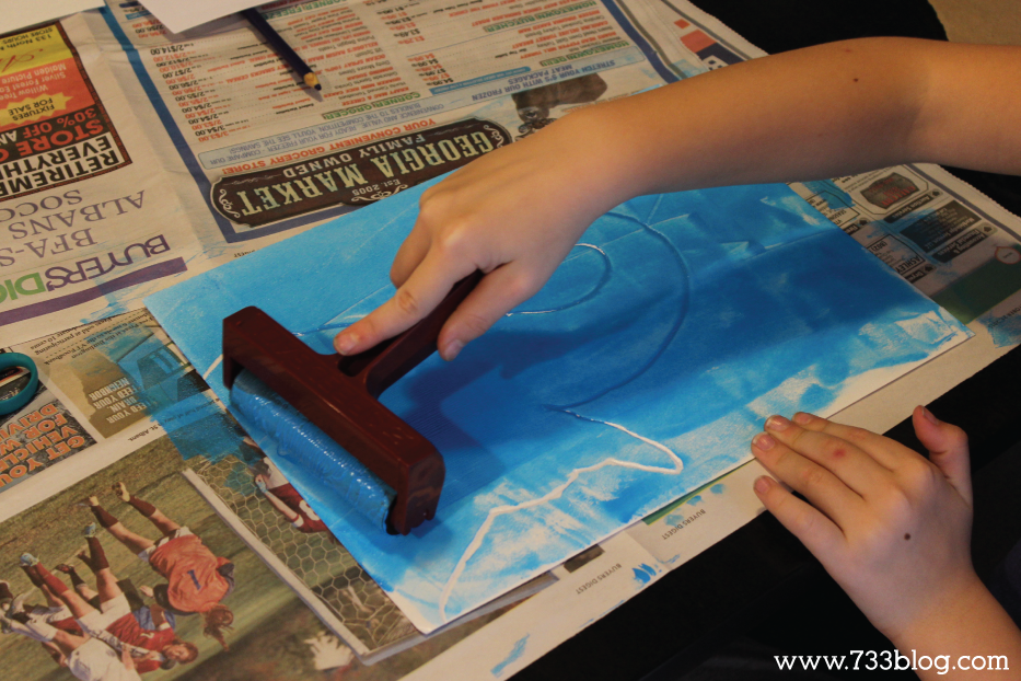 Printmaking with Kids