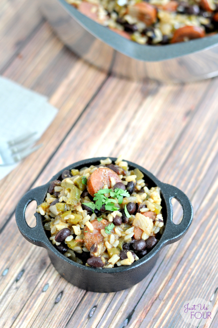 Easy Cajun Beans and Rice