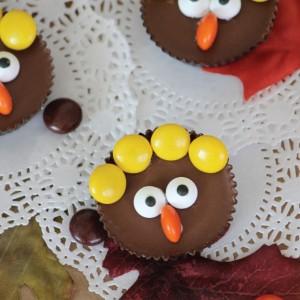 Peanut Butter Cup Turkey Thanksgiving Treat Idea