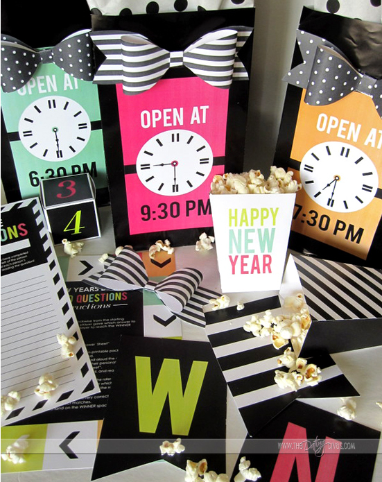 New Year's Eve Party Printable Pack