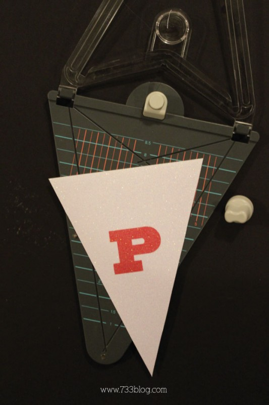DIY Pennant Punch Board