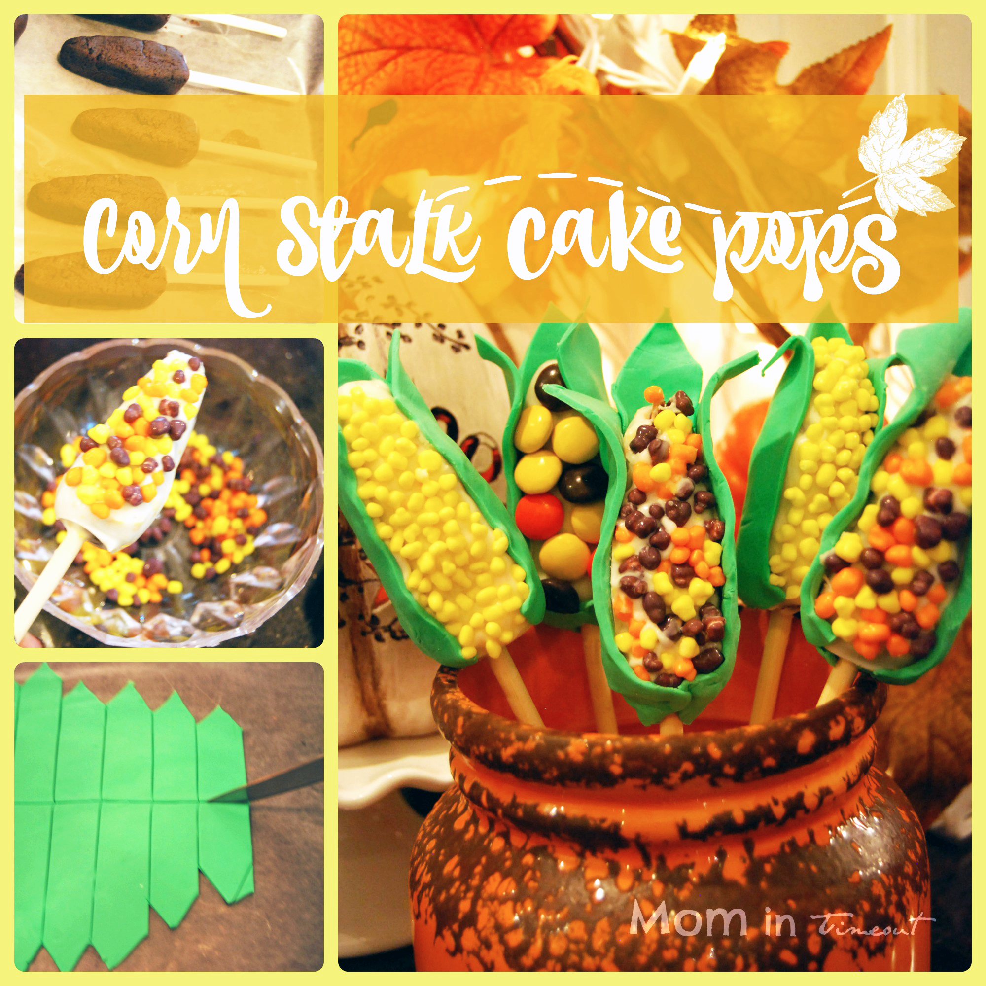 Corn Cake Pops Tutorial