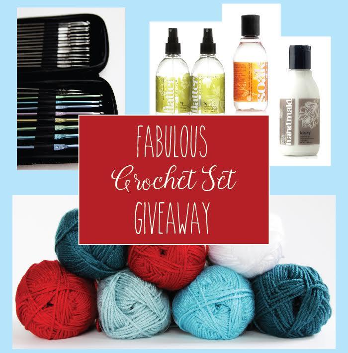 Crochet Set Giveaway