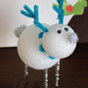 DIY Snowman and Reindeer