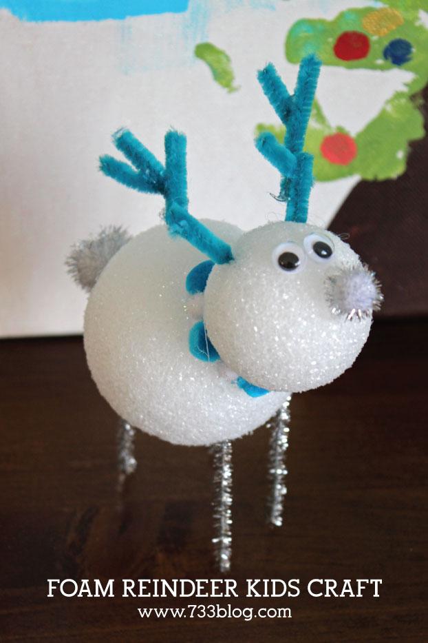 DIY Snowman and Reindeer
