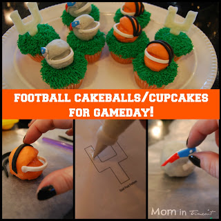 Football Cakeballs Tutorial