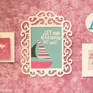 Mermaid Themed Gallery Wall