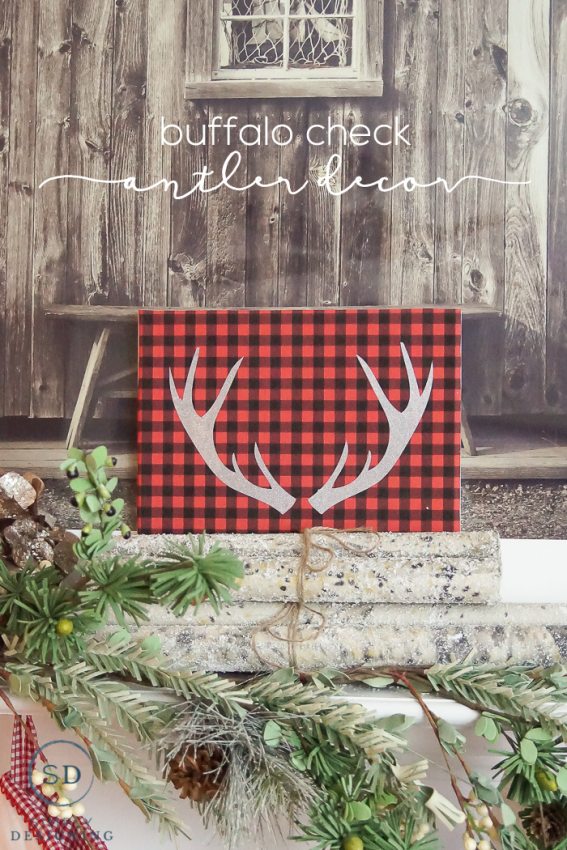 Buffalo-Check-Antler-Decor