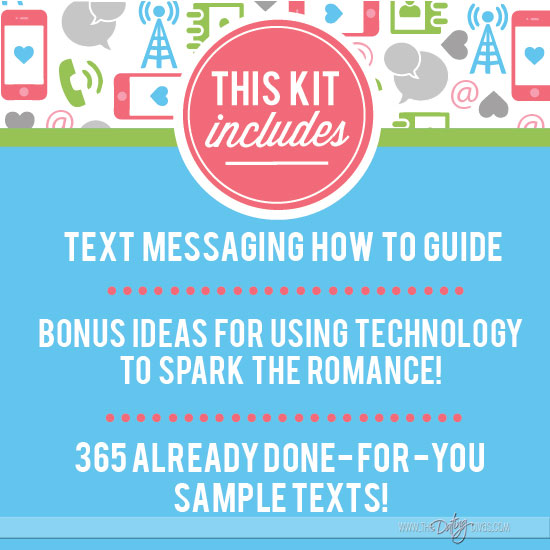 Flirty Texts Printable Pack - 365 Romance Texts