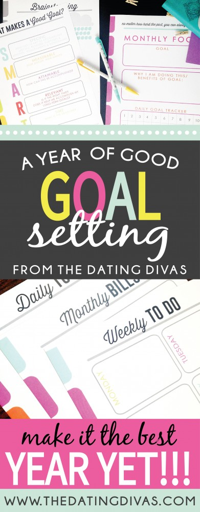 Year of Goals - A Printable Pack for the New Year