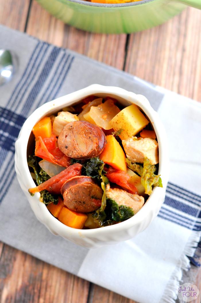 Paleo Chorizo Stew