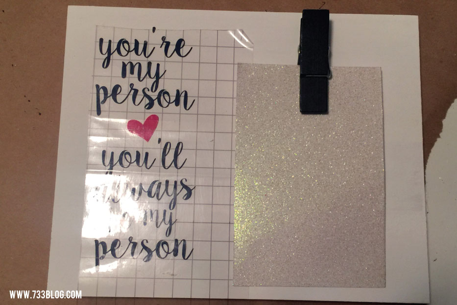You're My Person DIY Photo Display Tutorial