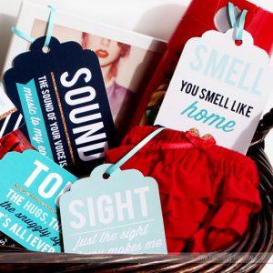 Five Senses Gift Printable Pack