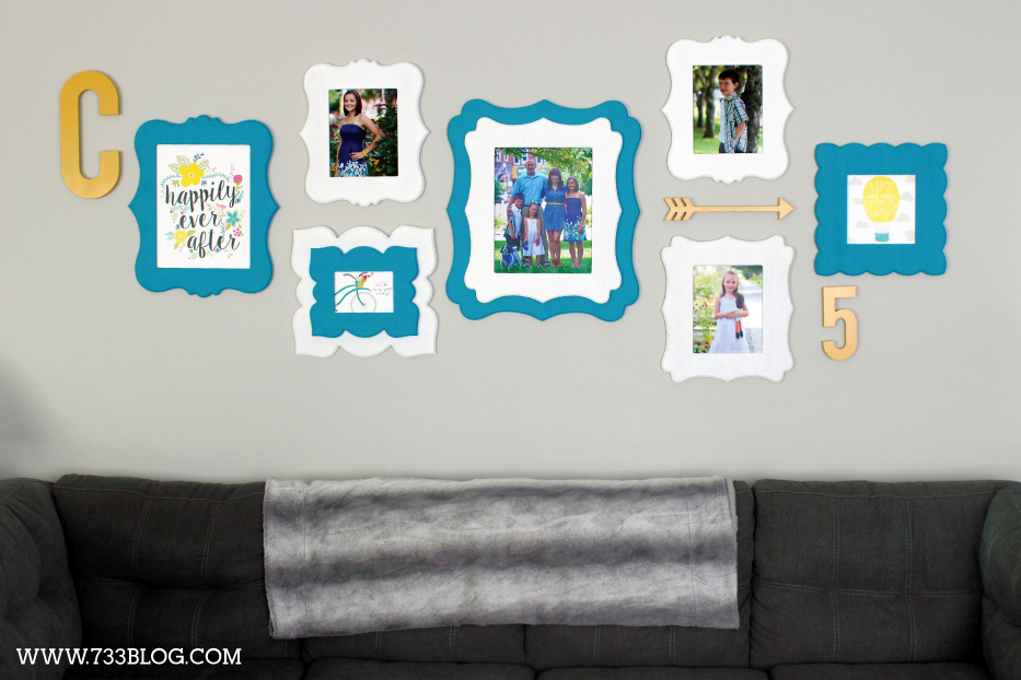 Family Themed Gallery Wall