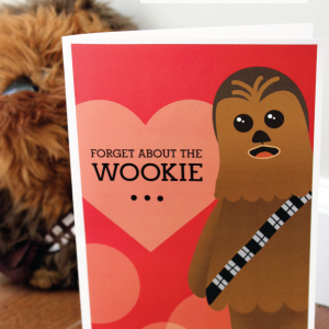 Wookie Valentine's Day Card