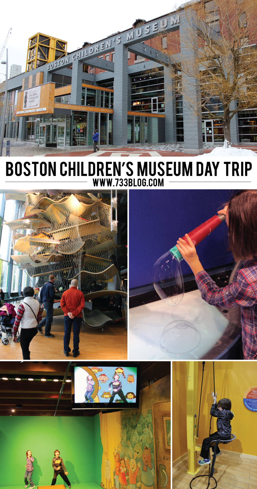 Family Trip to the Boston Children's Museum
