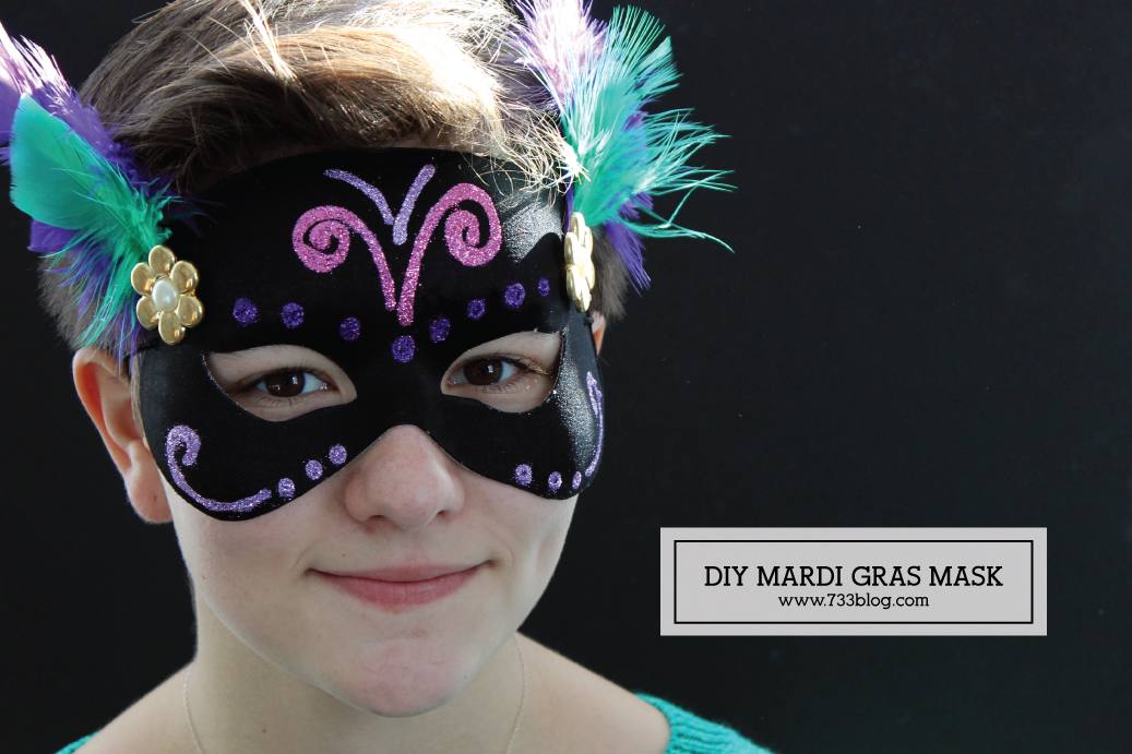 DIY Mardi Gras Mask Kids Craft : mardi gras kids costume  - Germanpascual.Com