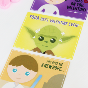 Star Wars Inspired Valentines