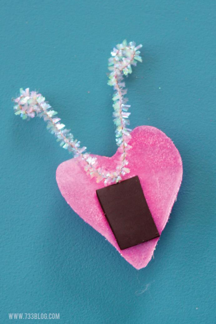 DIY Valentine Magnet