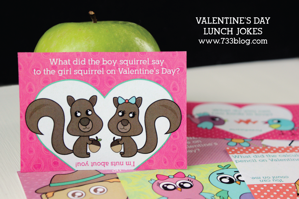 Valentine's Day Lunch Jokes for Kids