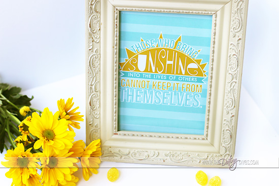 Cheer Up Kit Printable Gift Idea