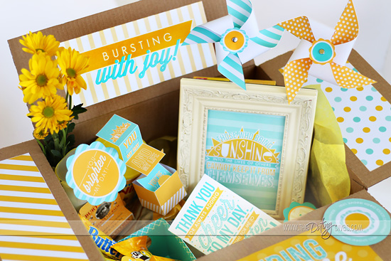 Cheer Up Kit Printable Gift Idea