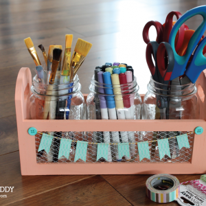 DIY Art Caddy Tutorial