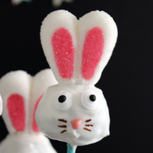 DIY Bunny Donut Hole Pops