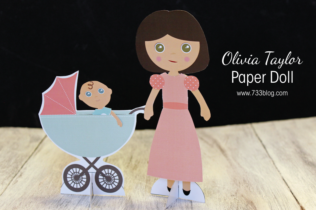Olivia Taylor Printable Paper Doll