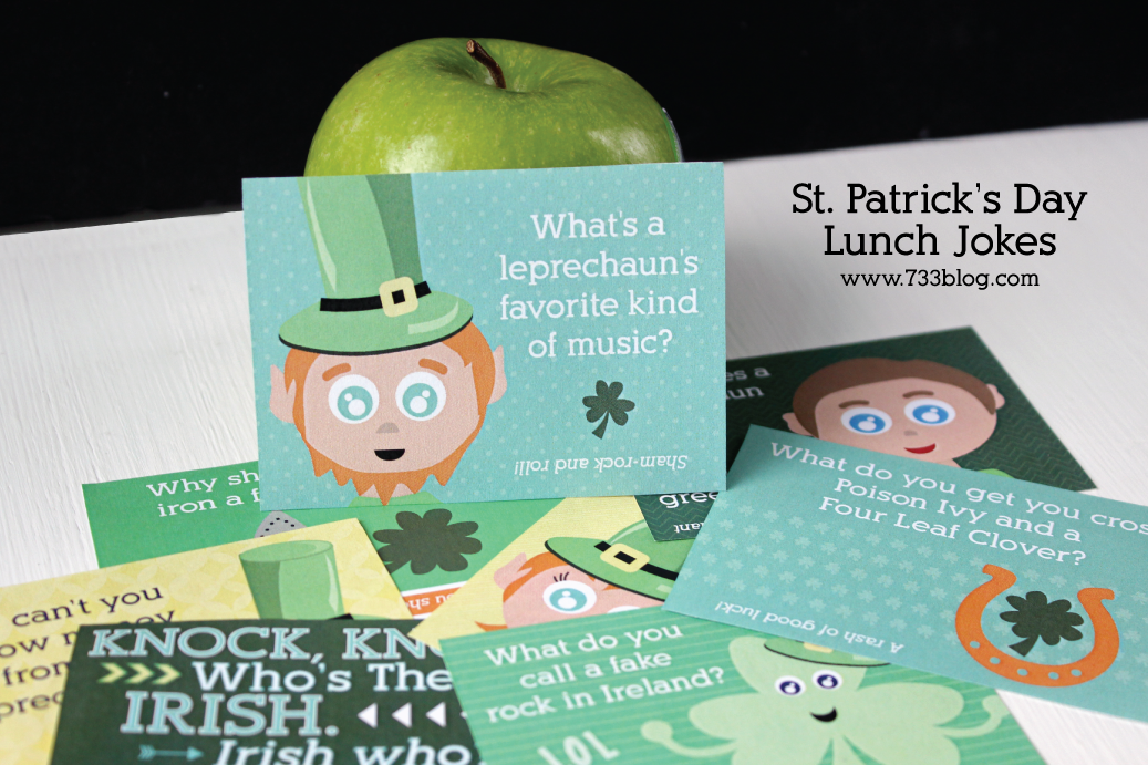 St. Patrick's Day Lunch Jokes for Kids