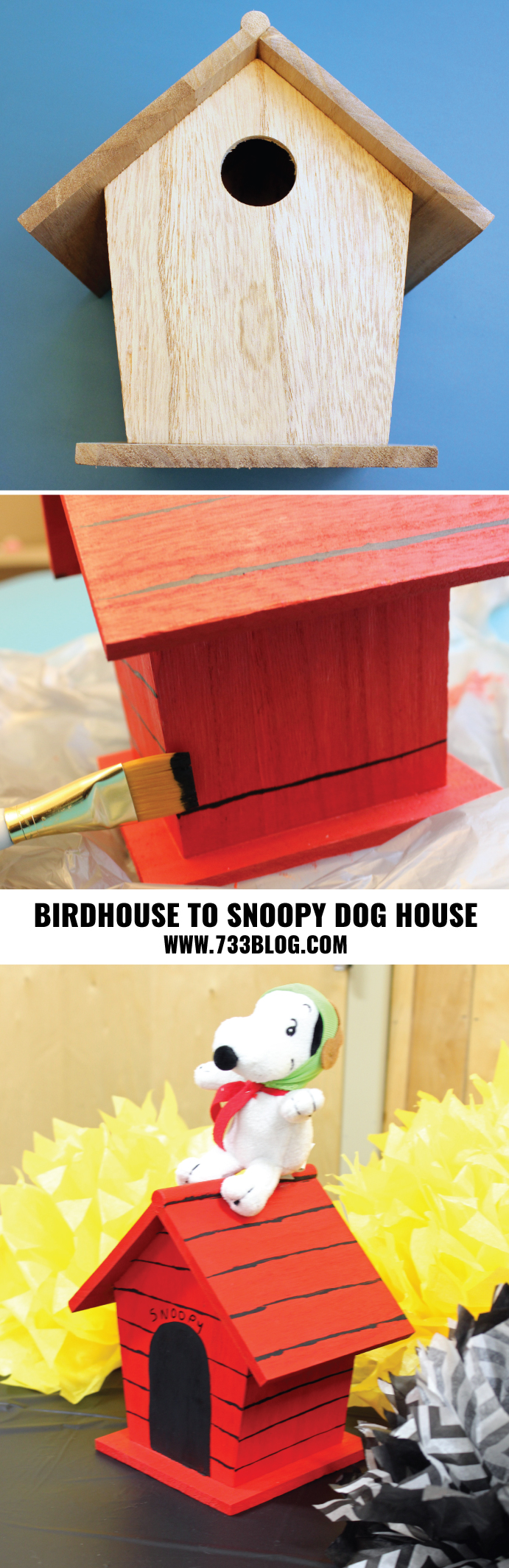 DIY Snoopy Dog House