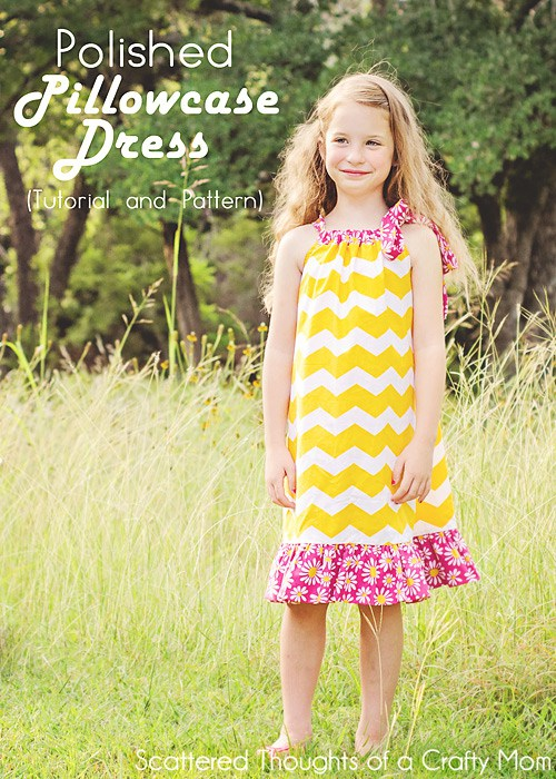 Free Polished Pillowcase Dress Tutorial