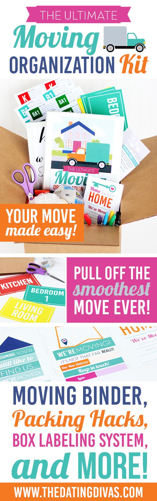 Moving Organization Printable Kit