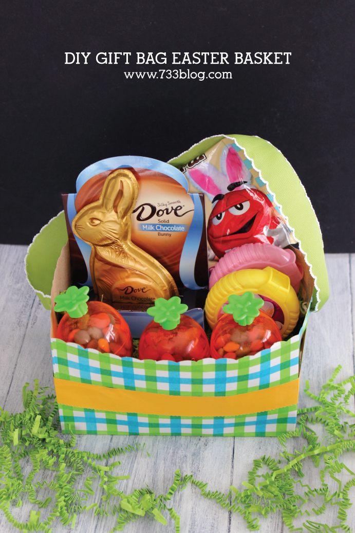 DIY Gift Bag Easter Basket Gift Ideas