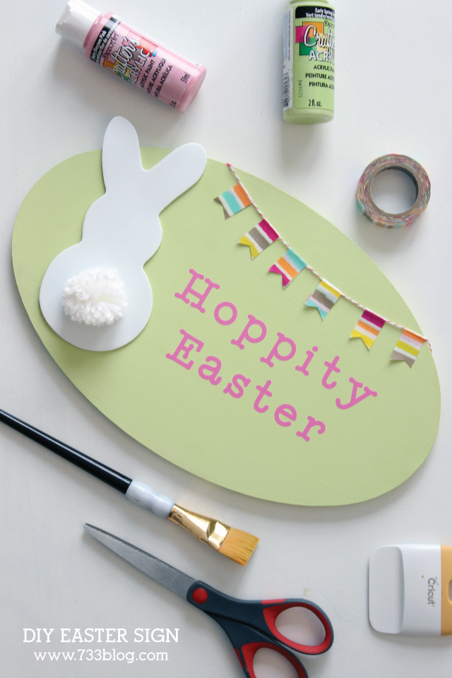 Fun and Festive DIY Easter Sign
